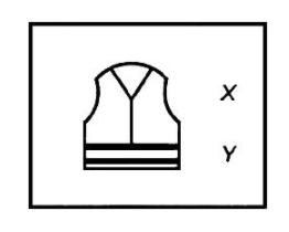 Пиктограмма с обозначением уровня защитных свойств