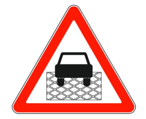 Изображение знака Участок перекрестка