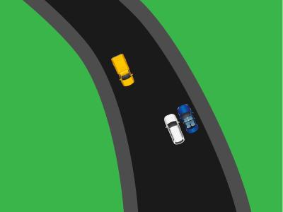 Сужение дороги. Кто должен уступить