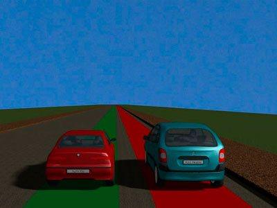 Кто должен уступить при сужении дороги без разметки?