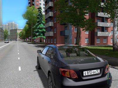 Симулятор вождения автомобиля «City Car Driving»  версия 1.5.5
