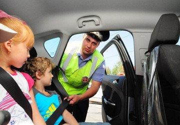 Правила перевозки детей в автомобиле с 12 июля 2017 года
