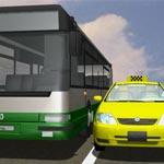 Движение такси по полосе для маршрутных транспортных средств