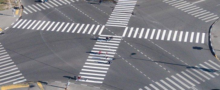 Изменения ПДД с 15 апреля 2015 года — диагональные переходы