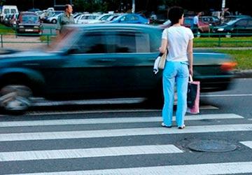 Какой штраф за непропуск пешехода в 2018 году?