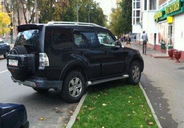 Введение штрафа за парковку на газонах — обсуждение в думе