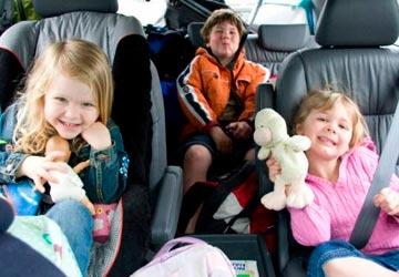 Правила перевозки детей. Требования, возраст, штрафы.