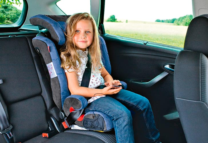 Перевозка ребенка старше 7 лет