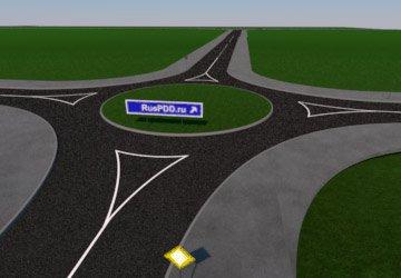 Как проезжать перекрестки с круговым движением?