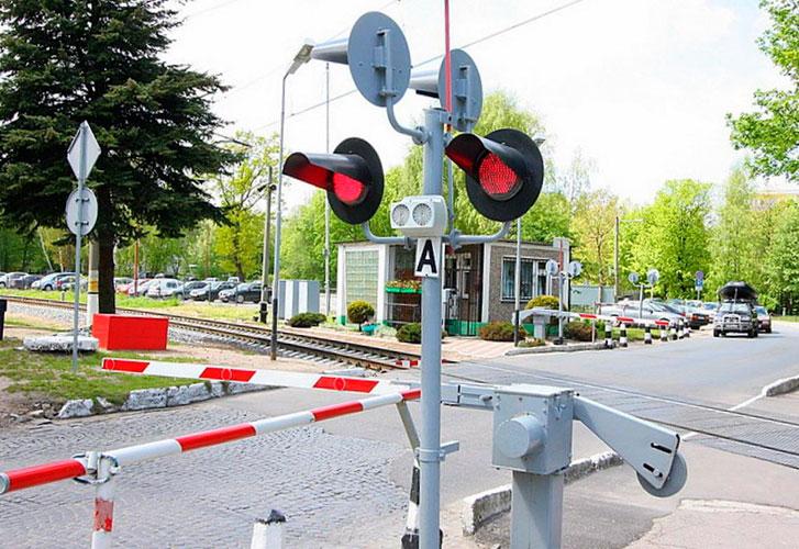 Штрафы на железнодорожном переезде