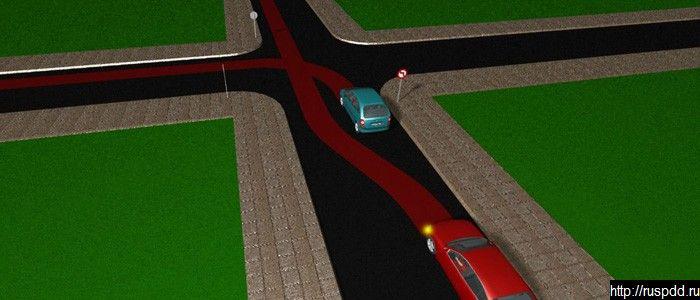 Поворот без подачи сигнала поворота, в нарушение требований знака. Обгон на дороге, не являющейся главной