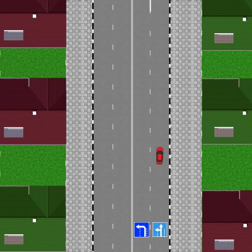 Движение к перекрестку